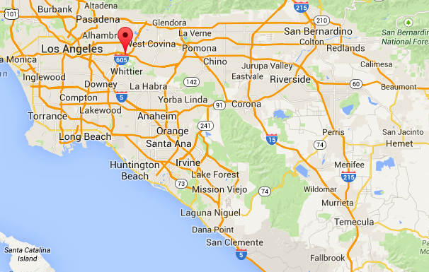 San Gabriel Valley Map San Gabriel Valley Map   Eva Sells Properties